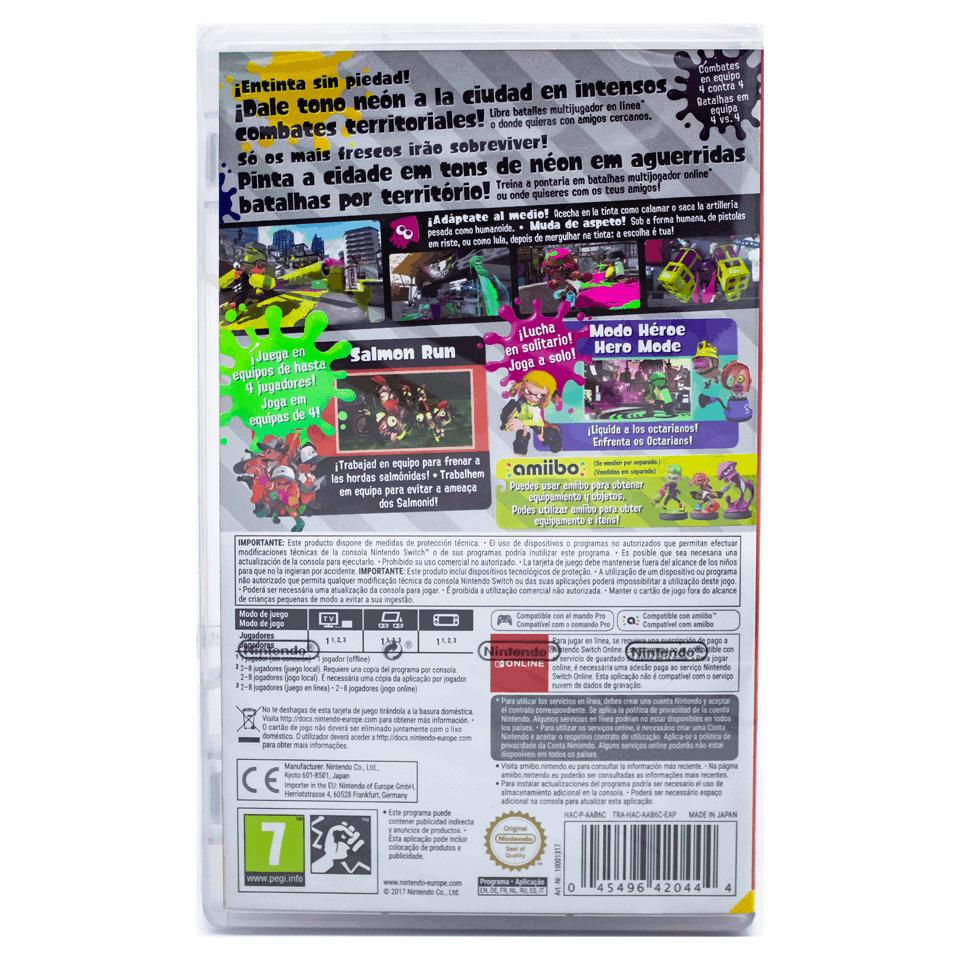 Splatoon 2 - Standard Edition Para Nintendo Switch