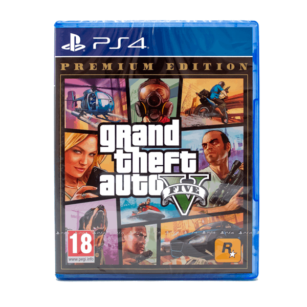 GTA V Premium Edition - Complete Edition - PlayStation 4