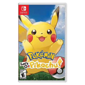 Pokémon Let's Go Pikachu Para Nintendo Switch