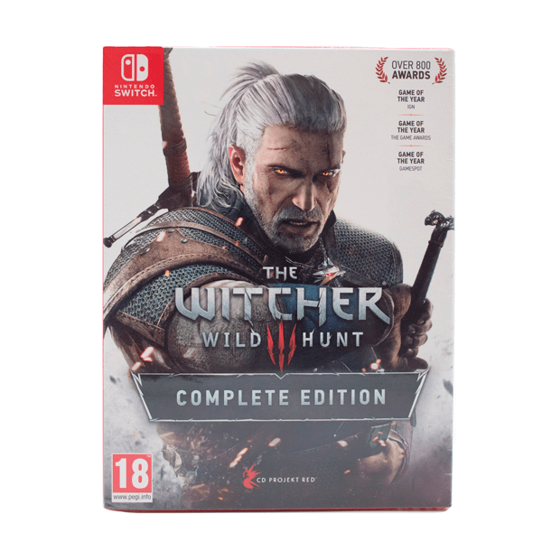 The Witcher 3: Wild Hunt - Nintendo Switch - Standard Edition